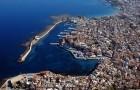 Chania old Towm Aerial view